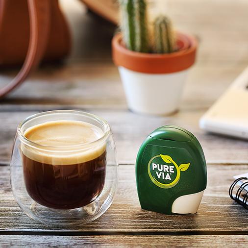 Café sucré au Stevia